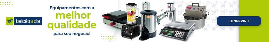 Todos os tipos de equipamentos e utilidades do ramo gastronômico você encontra na Balcão&Cia!