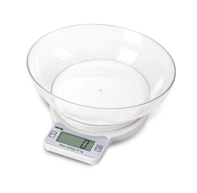 Balança Digital de Cozinha, 5Kg, Com Bateria, Balmak, EASY-5