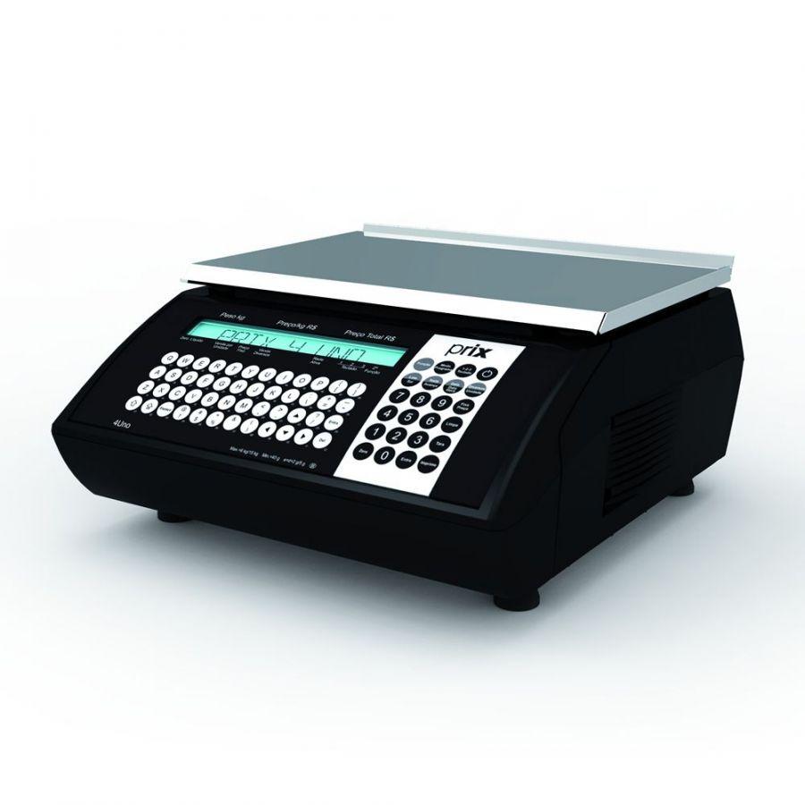 Balança Eletrônica, 15Kg Com Impressora Integrada, Toledo, Prix 4 UNO WEB, BIVOLT
