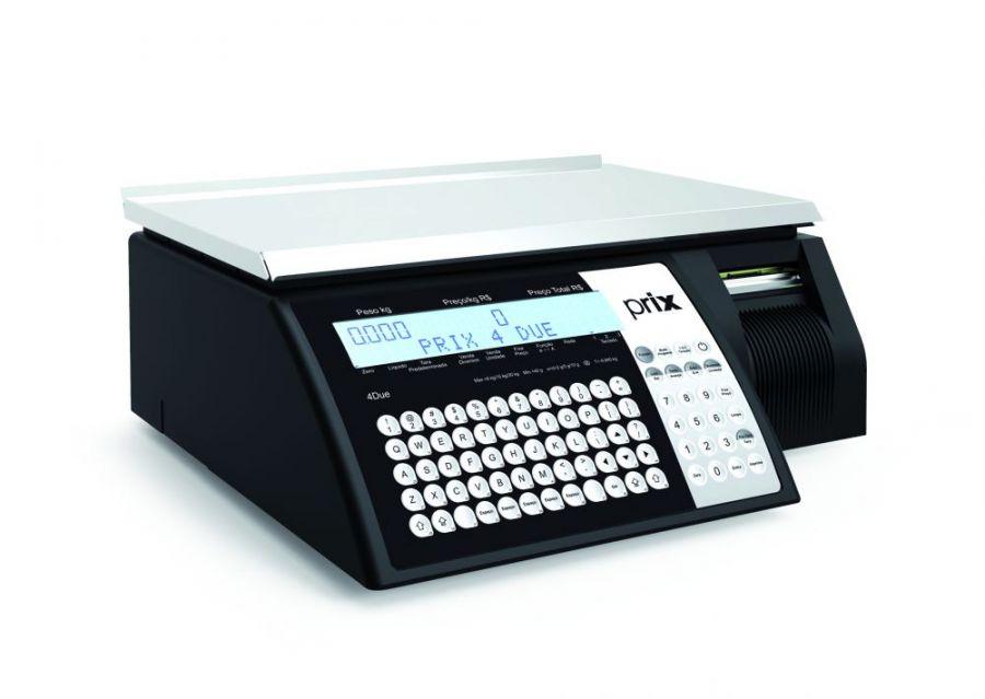 Balança Eletrônica, 30Kg Com Impressora Integrada, Toledo, Prix 4 DUE WI FI, BIVOLT