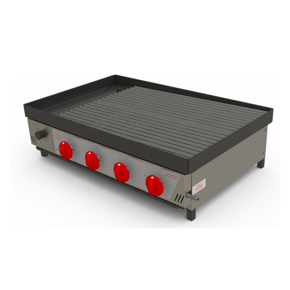 Chapa Grill Char Broiler a Gás, 80cm, Progás, PRCB-800 Style