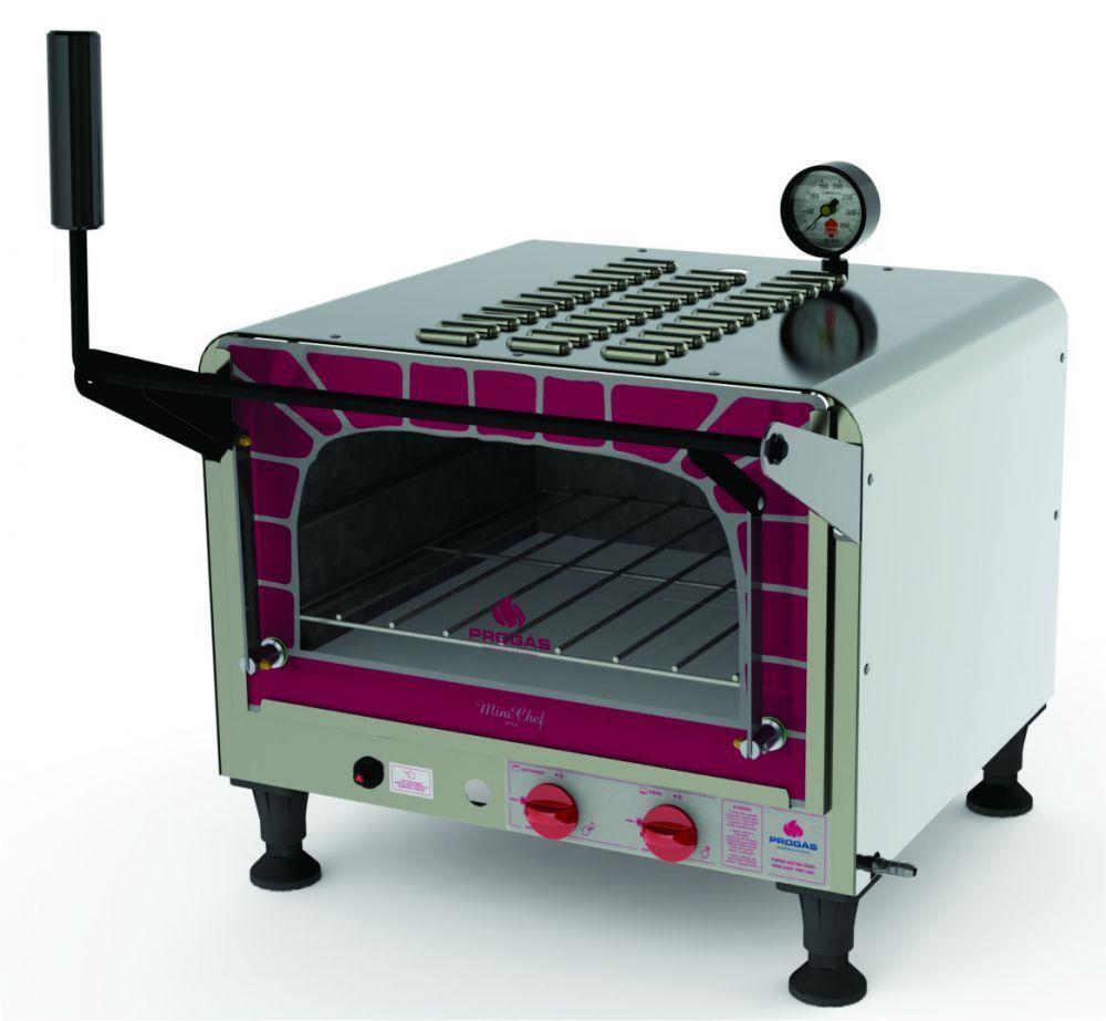 Forno Refratário Mini Chef, a Gás, Progás, PRP-400 Style