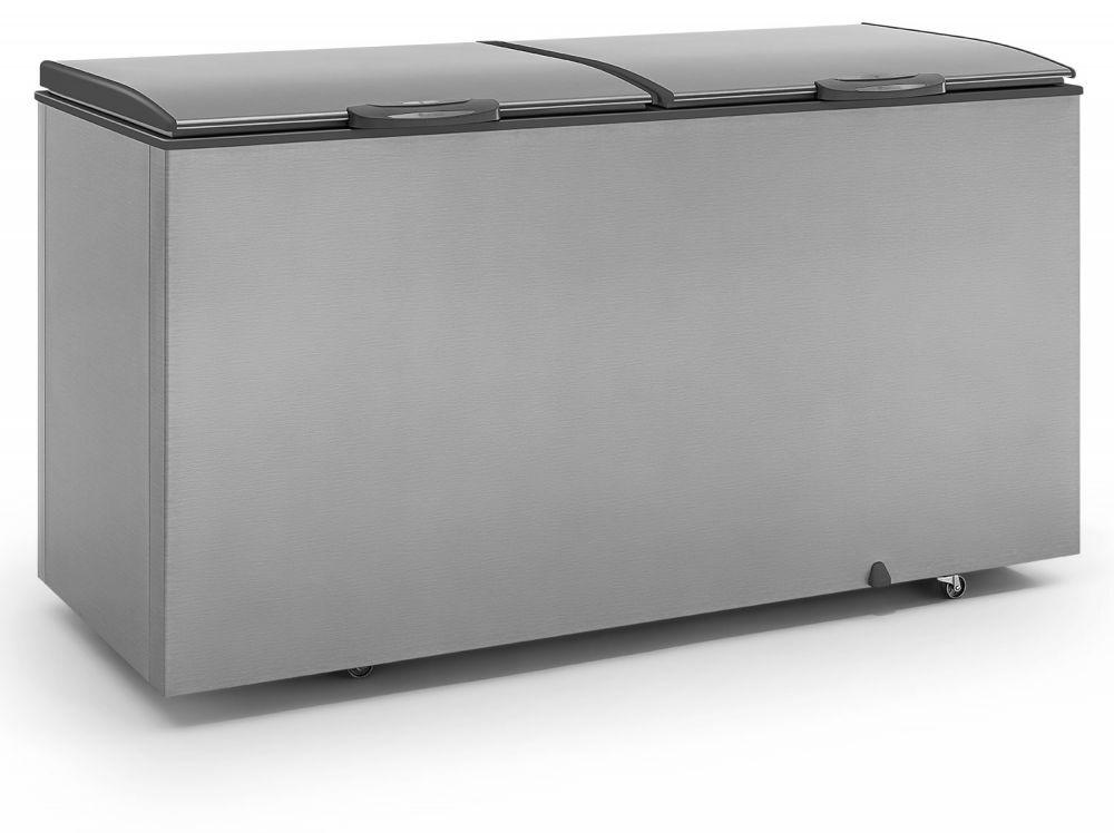 Freezer Horizontal Tipo Inox, Congelador, 532Lts, Gelopar, GHBS-510 TI