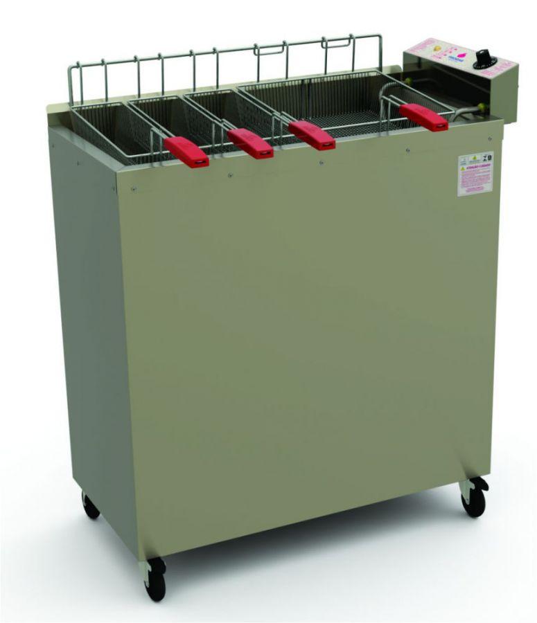 Fritadeira Elétrica Água e Óleo de Piso, 36 Litros, Progás, PR-3000 E Style, 220V