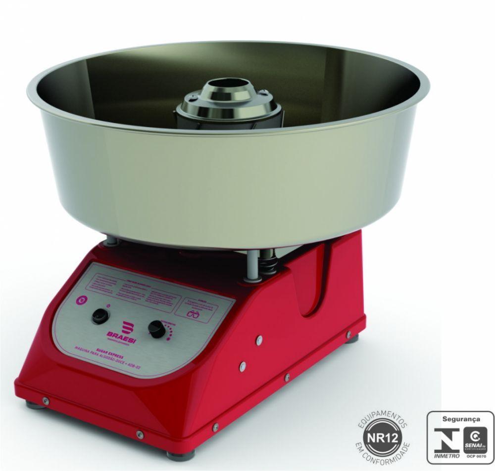 Máquina de Algodão doce, 150Un/H, Braesi, ADB-02