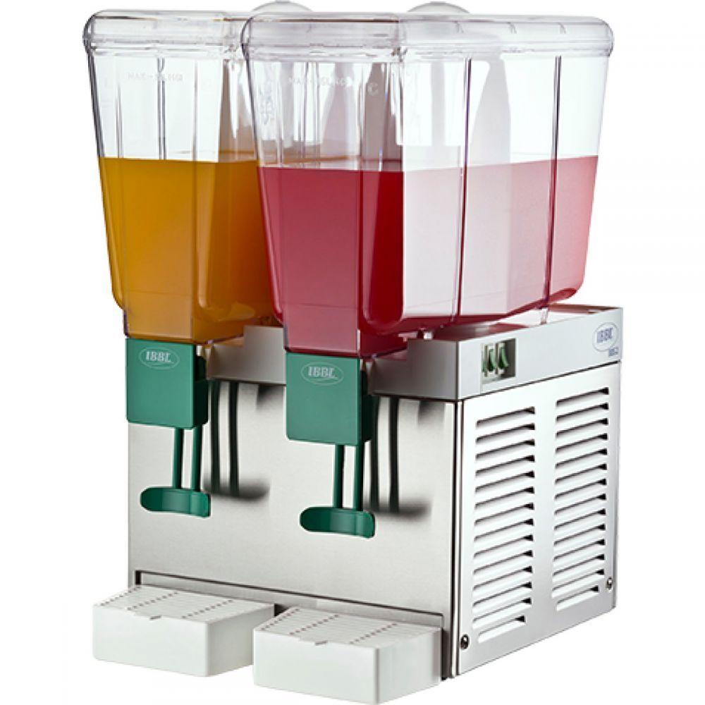Refresqueira / Suqueira, 2 Depósitos, 30 Litros, Inox, IBBL BBS2