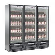 Refrigerador Expositor Vertical de Bebidas ou Carnes, 1498 Litros, Gelopar, GCBC-1450