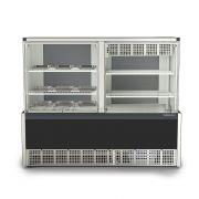 Vitrine Quente/Fria Evaporador, 1,40Mts, Gelopar, GQEA-140R