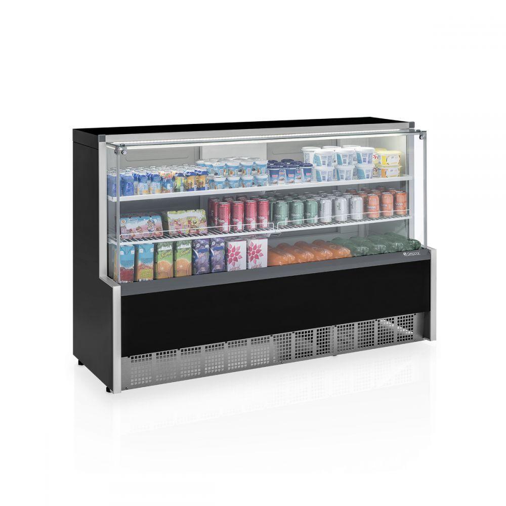 Vitrine Refrigerada Universal, 1 Placa Fria, 1,75Mts, Gelopar, GPSA-175R