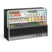 Vitrine Refrigerada Universal, 2 Placas Frias, 1,75Mts, Gelopar, GPDA-175R